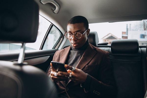 Transportation Stock Photos: Cherkas Photography - Young african man.