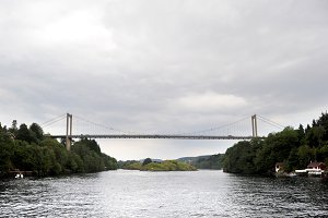 Suspension bridge, Norway
