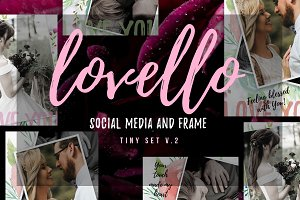 LOVELLO Social Media Tiny Set v.2