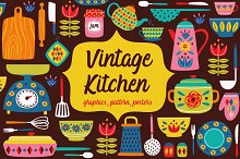 vintage kitchen collection