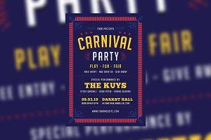 Carnival Event Flyer