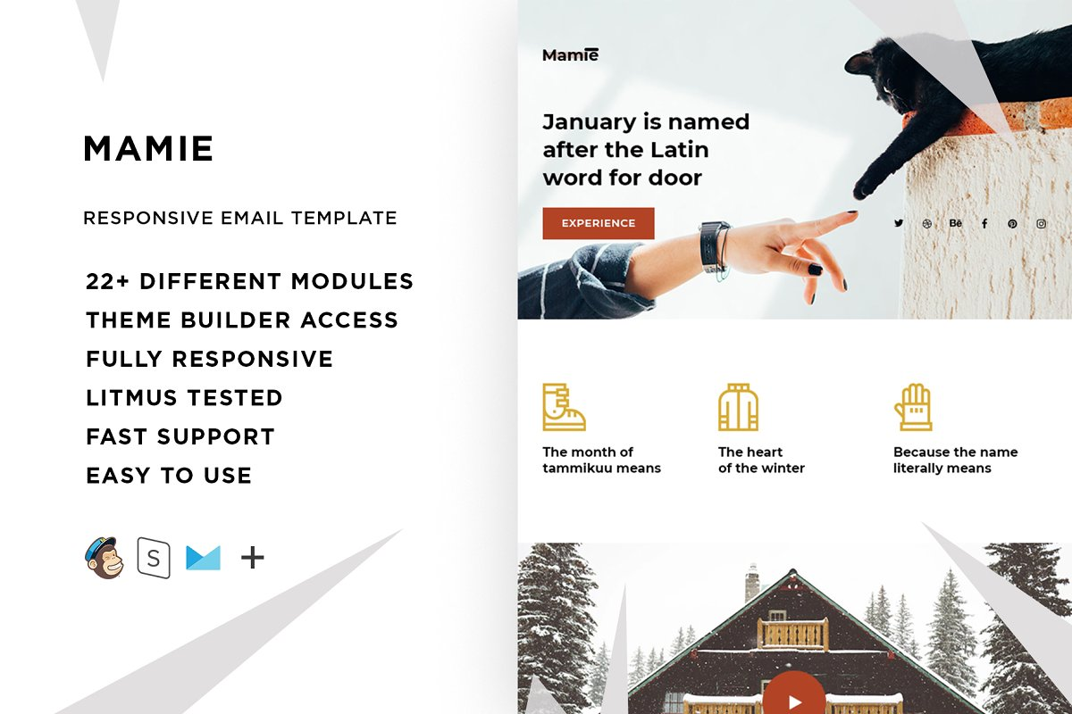 Mamie – Email template + Builder