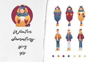 Winter characters