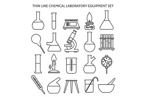 Chemical laboratory equipment line