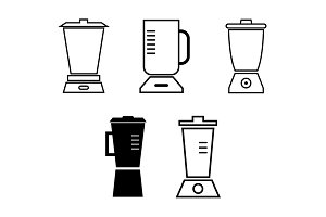 Set of blenders