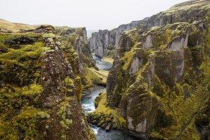 Majestic Icelandic Canyon