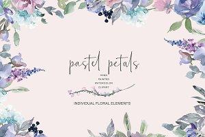 Watercolor Pastel Florals