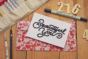 Business Envelope Card Sketch