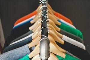 Industrial Clothing Rack