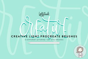 Procreate Brushes | Creative Light