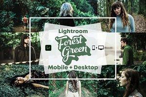Forest Green - Lightroom Presets