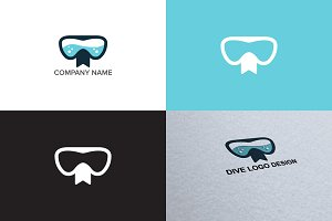 Diving logo design