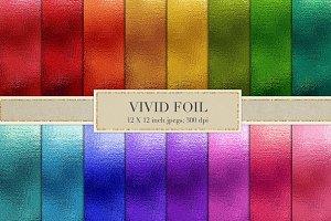 Vivid Foil Textures