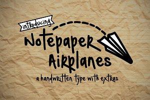 Notepaper Airplanes