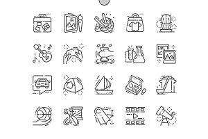 Hobbies Line Icons