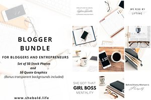 Styled Stock Photos and Quote Bundle