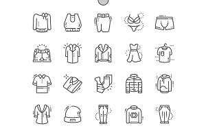 Clothes Line Icons