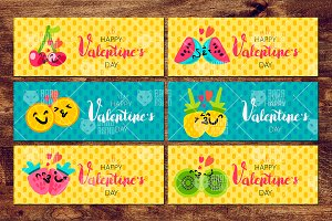 Sweet Valentine Banners
