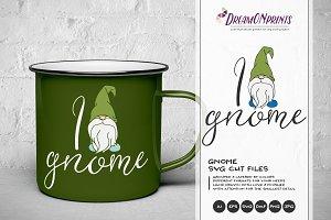 I Gnome - Fun SVG Illustration