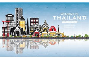 Welcome to Thailand City Skyline