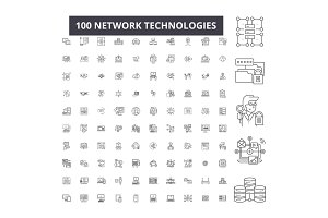 Network technologies editable line
