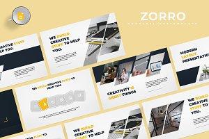 Zorro -  Google Slides Template
