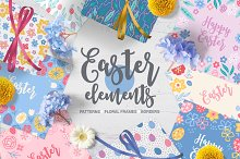 Easter Elements by  in Objects