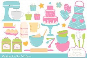 Bright & Fresh Baking Clipart