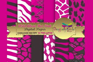 WILD About Hot Pink Paper Pack
