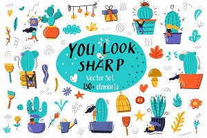 """You Look Sharp"" Cactus Collection"