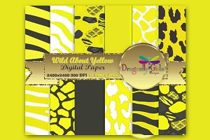 WILD About Sunny Yellow Paper Pack