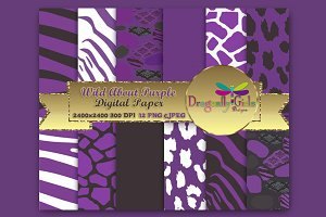 WILD About Purple Paper Pack