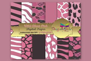 WILD About Pink Paper Pack