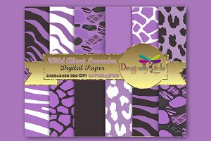 WILD About Lavender Paper Pack