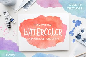 Watercolor Effects for Photoshop