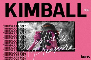 KIMBALL - 3 Weight Sans Serif
