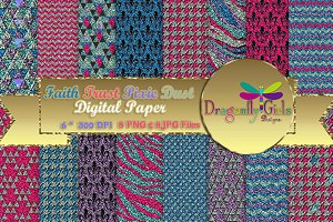 Pixie Dust Digital Paper