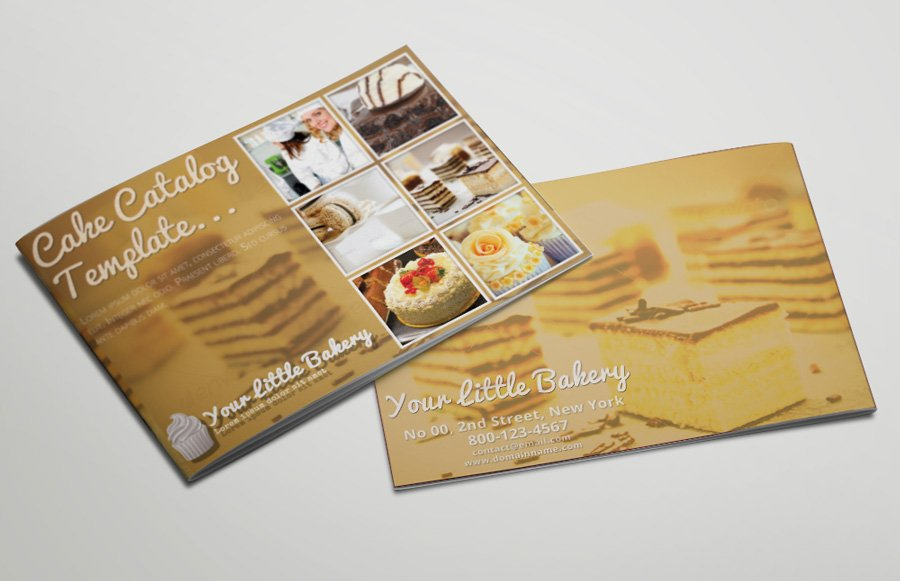 Catering Service Catalog or Brochure ~ Brochure Templates ~ Creative ...