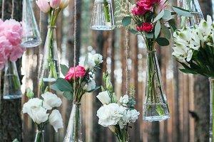 Wedding flowers decoration arch