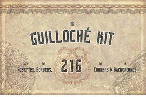 Guilloché 216 Elements Kit