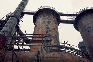 Rusty Pipes and Smokestacks