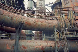 Rusty Pipe Network