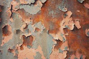 Rusty Peeling Paint