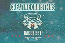 Creative Christmas Badges