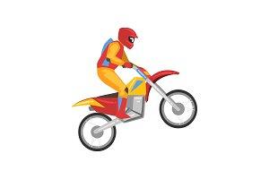 Motorcyclist, Motocross Racing
