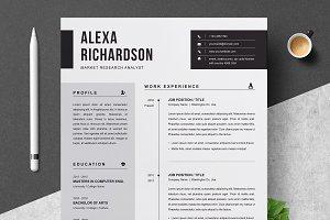 Resume Templates ~ Creative Market
