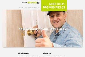 Lockmasters - Locksmith WP Theme
