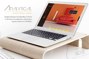 Analytical WordPress Theme