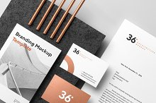 Copperstone Branding Mockup Vol. 1 by  in Branding