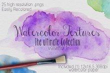 Watercolor Texture Vol. #1